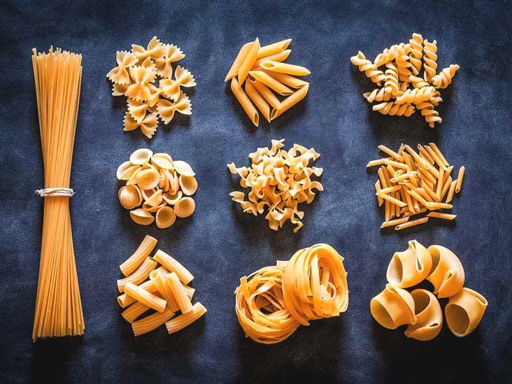 refined pasta